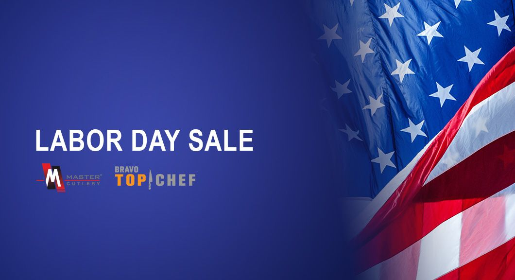 Labor Day Sale Promotion for Master Cutlery, Retail, and Top Chef Cutlery