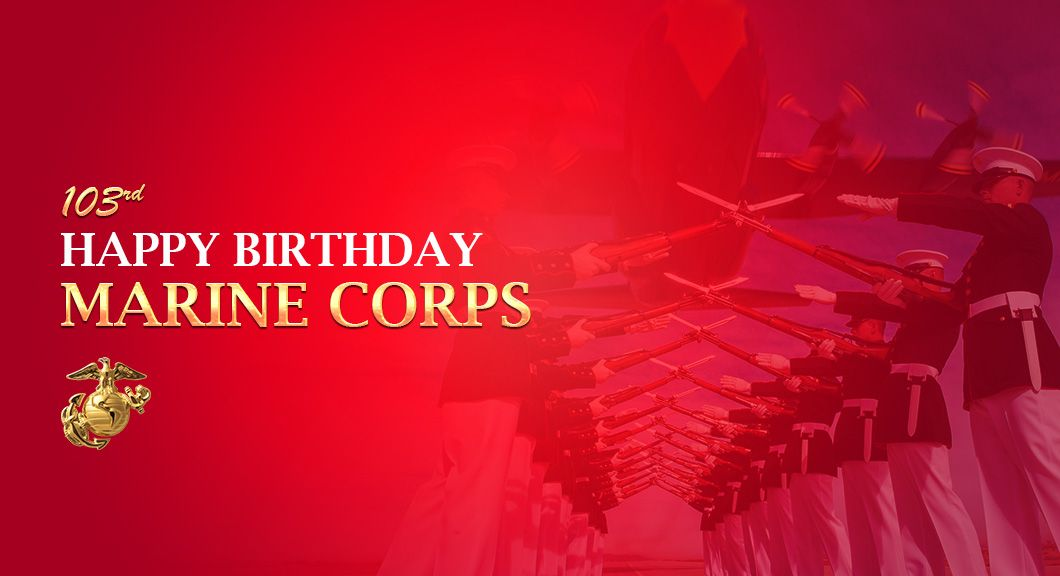 Happy Birthday to the Marine Corps Reserves! Celebrate with 25% off all officially licensed u.s. marines knives