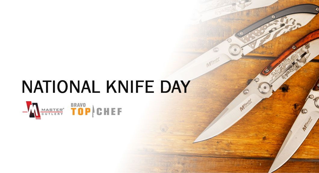 National Knife Day Promotion For Master Cutlery & Top Chef