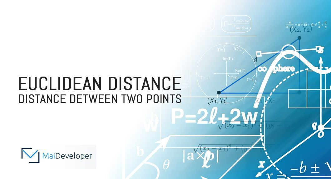 How to calculate Euclidean Distance? How to measure the distance between two points?
