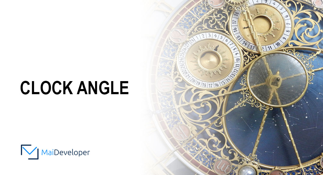 Clock Angle in JavaScript