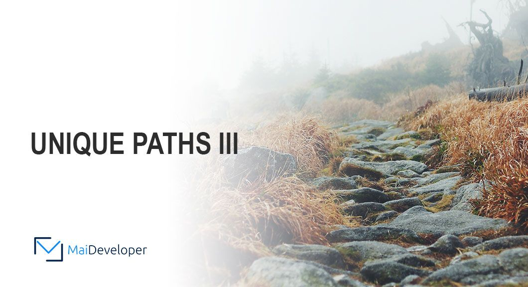 Unique Path III in JavaScript